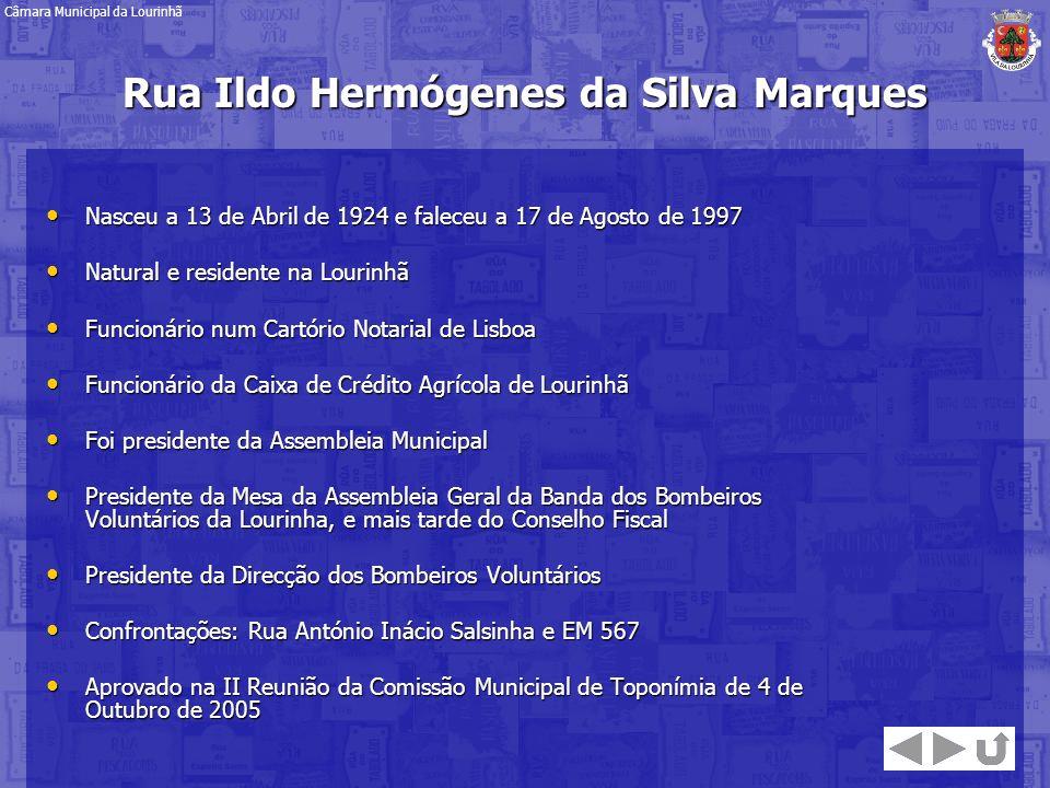 Rua Ildo Hermógenes da Silva Marques