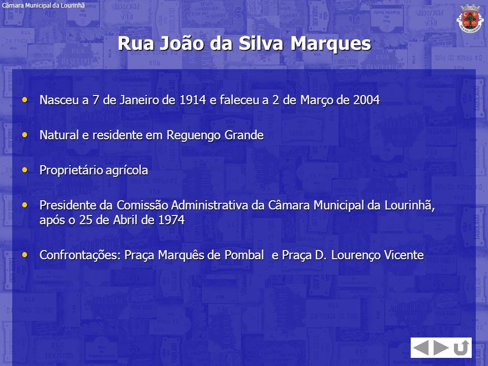 Rua João da Silva Marques