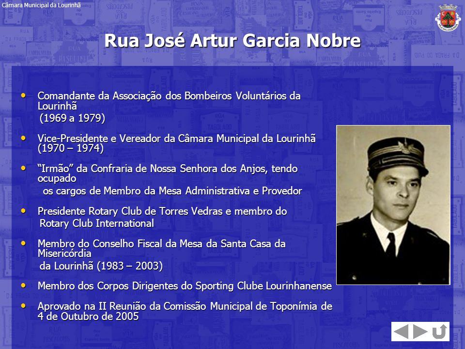 Rua José Artur Garcia Nobre