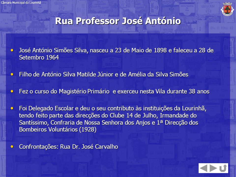 Rua Professor José António