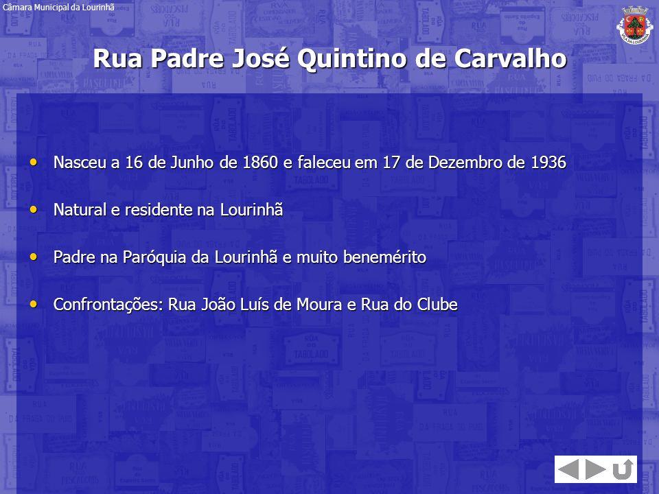 Rua Padre José Quintino de Carvalho