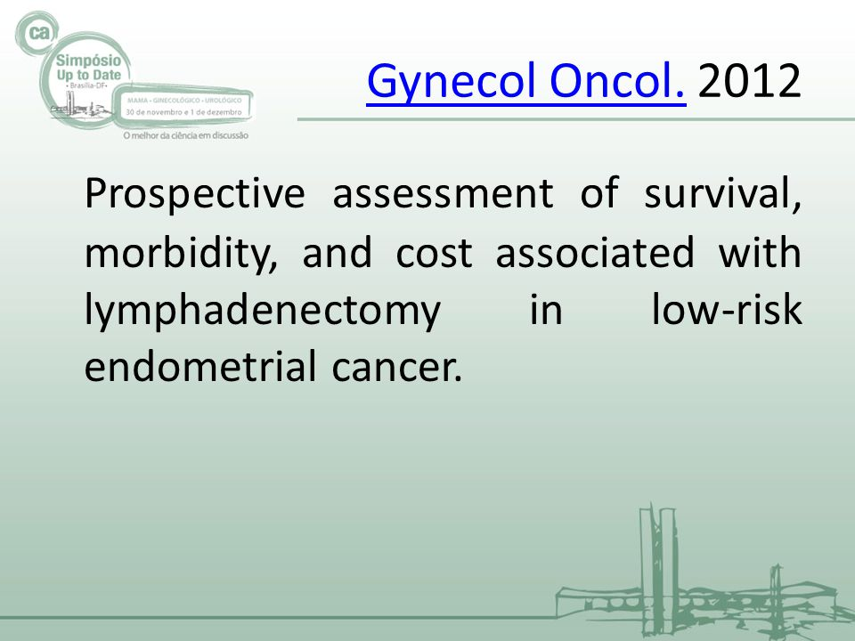 Gynecol Oncol.