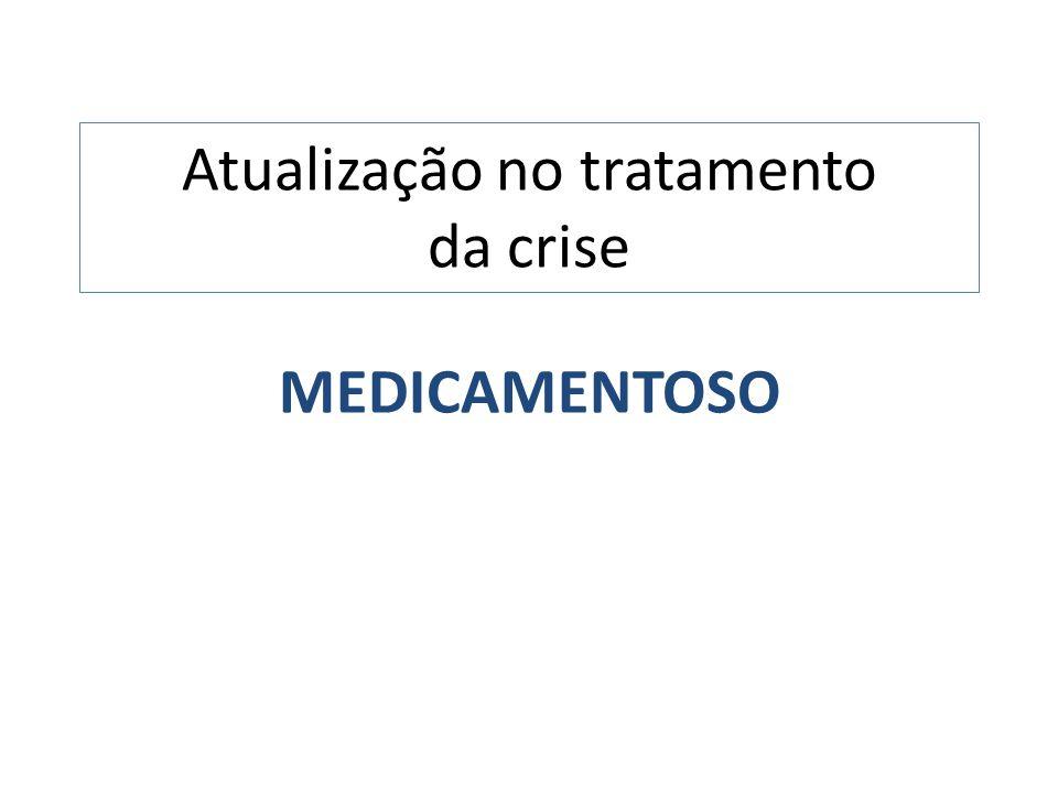 Atualização no tratamento da crise