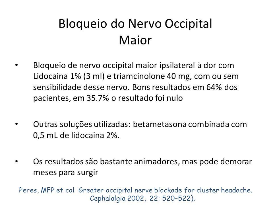 Bloqueio do Nervo Occipital Maior