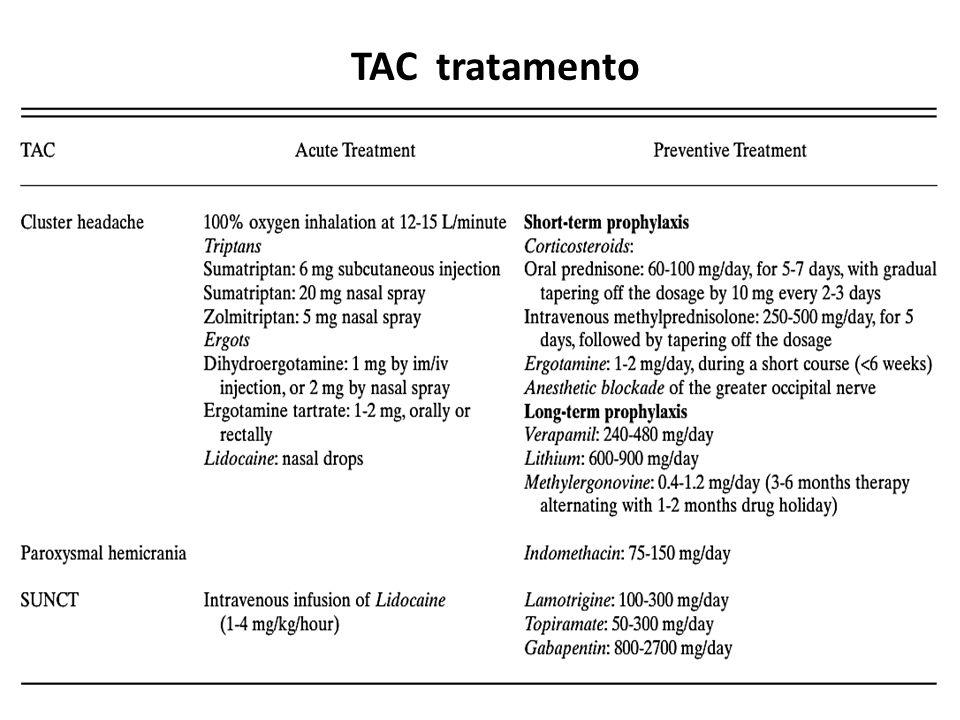 TAC tratamento