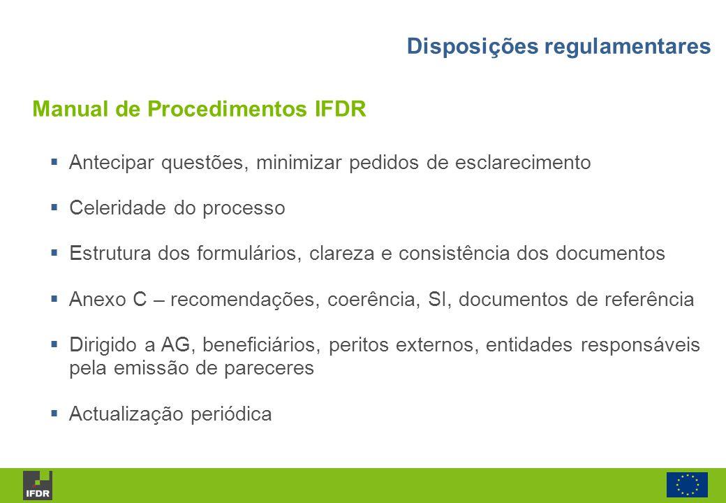 Manual de Procedimentos IFDR