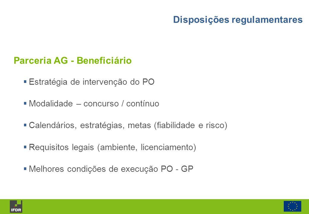 Parceria AG - Beneficiário