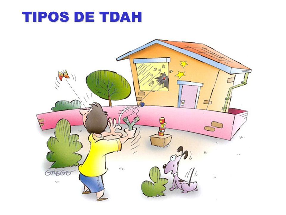 TIPOS DE TDAH