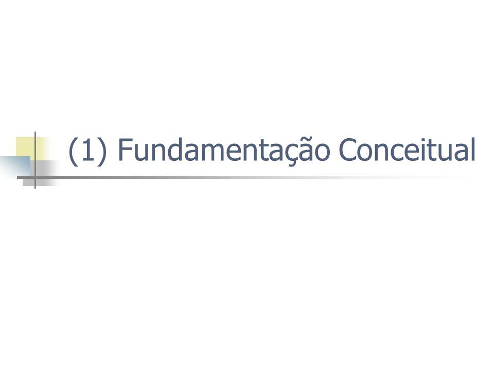 (1) Fundamentação Conceitual