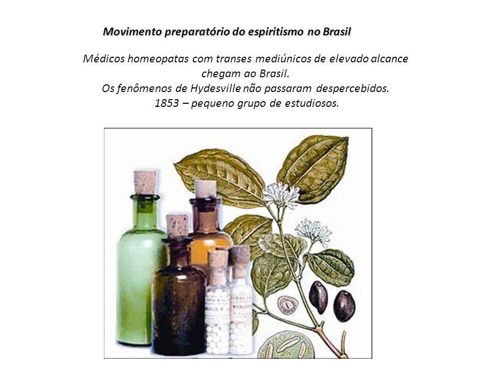 Movimento preparatório do espiritismo no Brasil