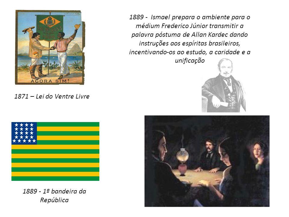 1889 - 1ª bandeira da República