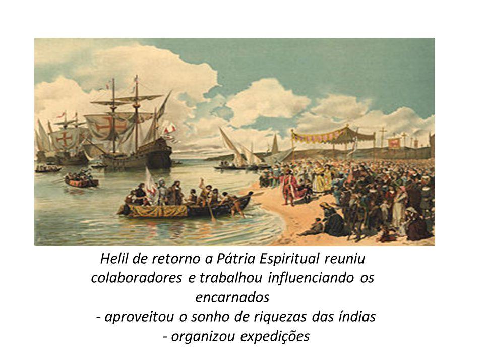 - aproveitou o sonho de riquezas das índias - organizou expedições