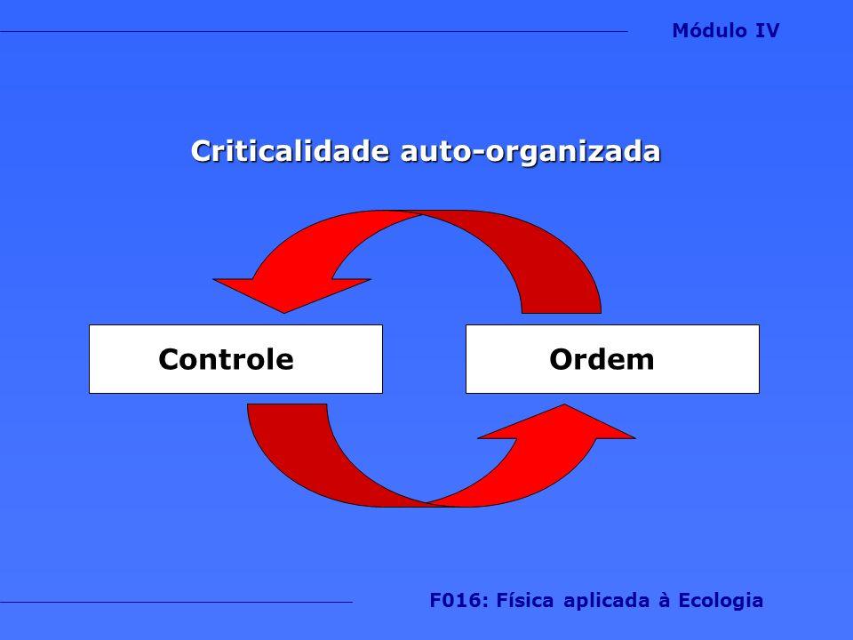 Criticalidade auto-organizada F016: Física aplicada à Ecologia