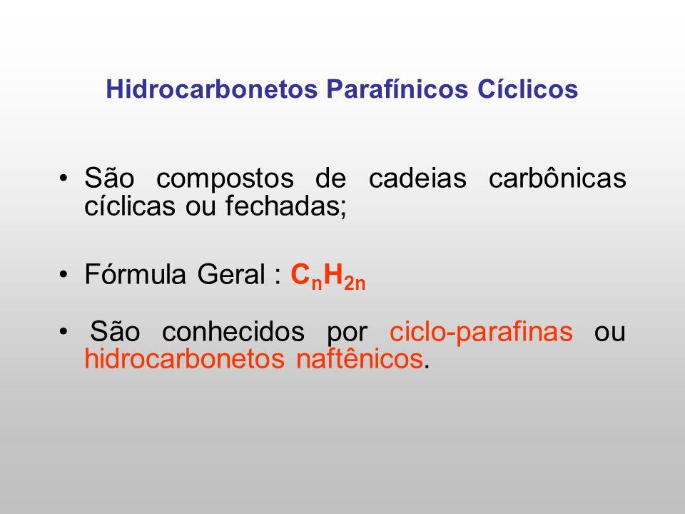 Hidrocarbonetos Parafínicos Cíclicos