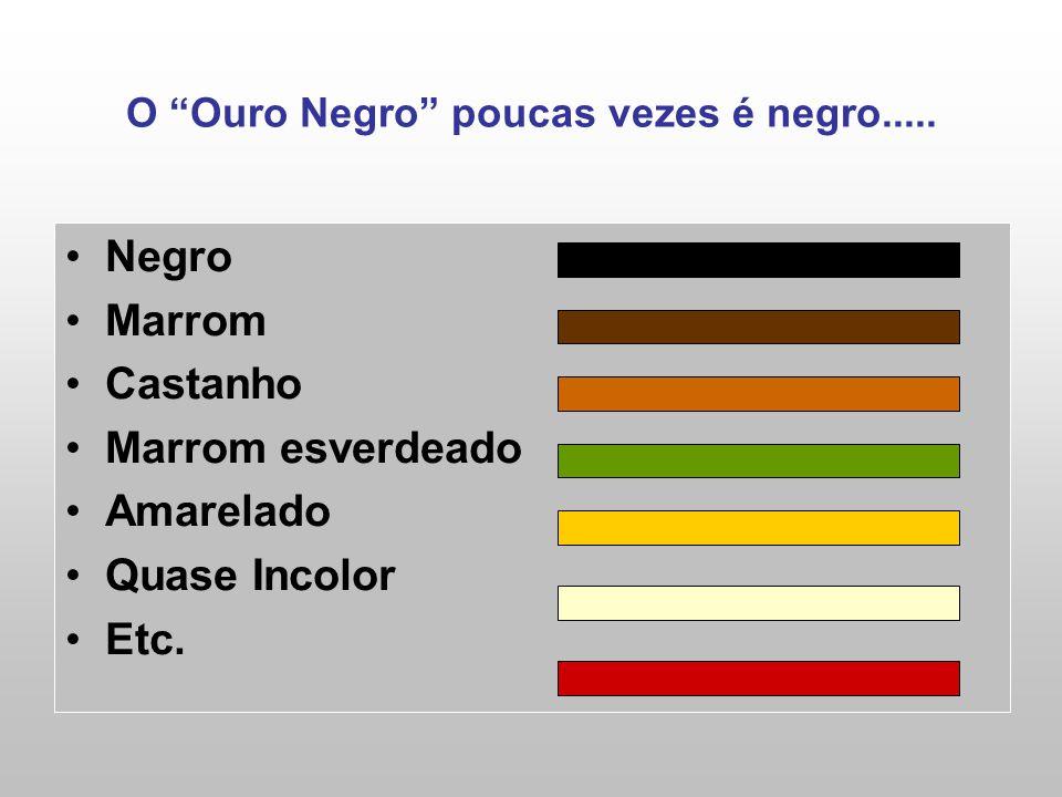O Ouro Negro poucas vezes é negro.....