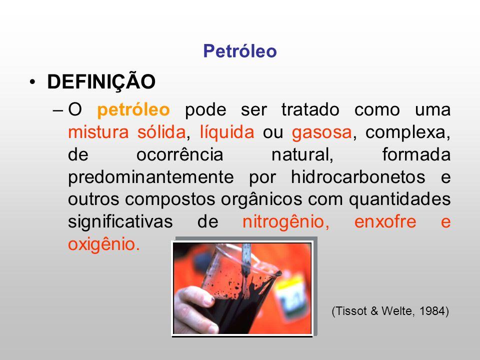 Petróleo DEFINIÇÃO.