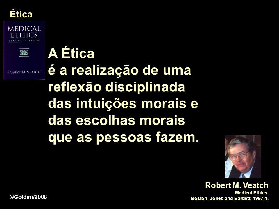 Ética A Ética. é a realização de uma reflexão disciplinada das intuições morais e das escolhas morais que as pessoas fazem.