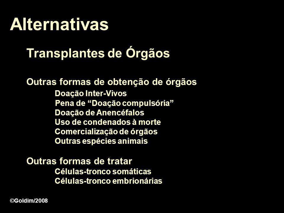 Alternativas Transplantes de Órgãos
