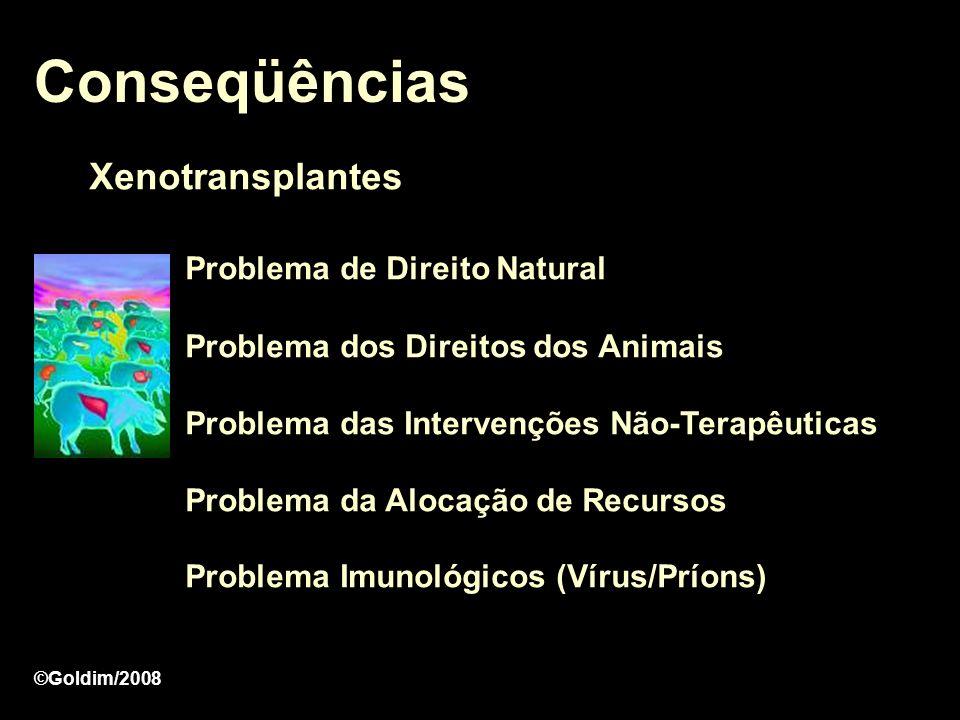 Conseqüências Xenotransplantes Problema de Direito Natural