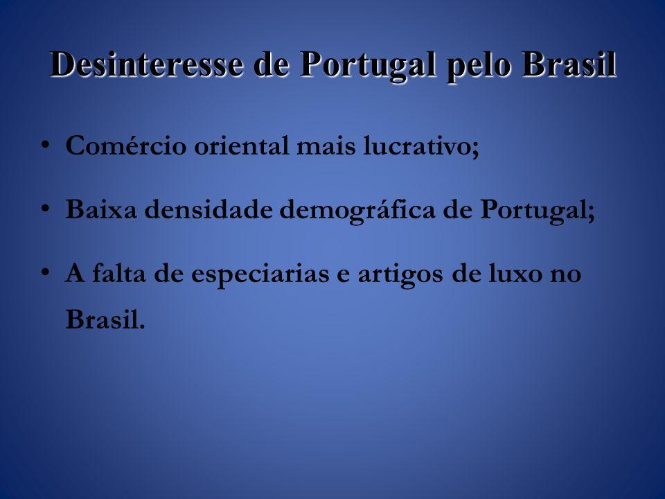 Desinteresse de Portugal pelo Brasil