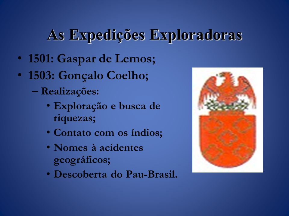 As Expedições Exploradoras