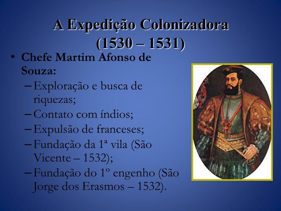 A Expedição Colonizadora (1530 – 1531)