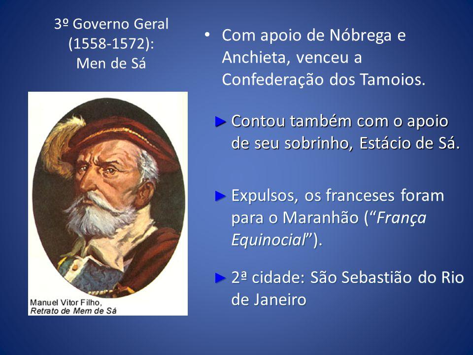 3º Governo Geral (1558-1572): Men de Sá