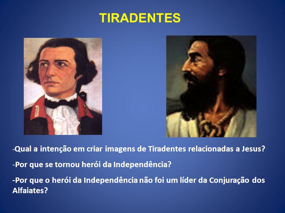 TIRADENTES Por que se tornou herói da Independência