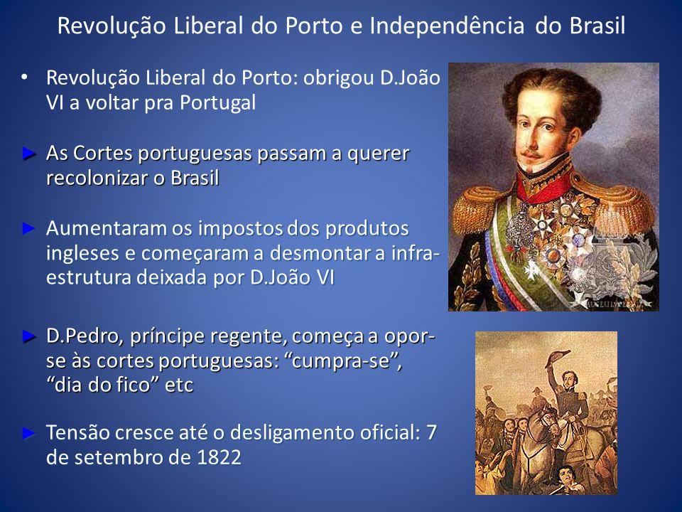 Revolução Liberal do Porto e Independência do Brasil