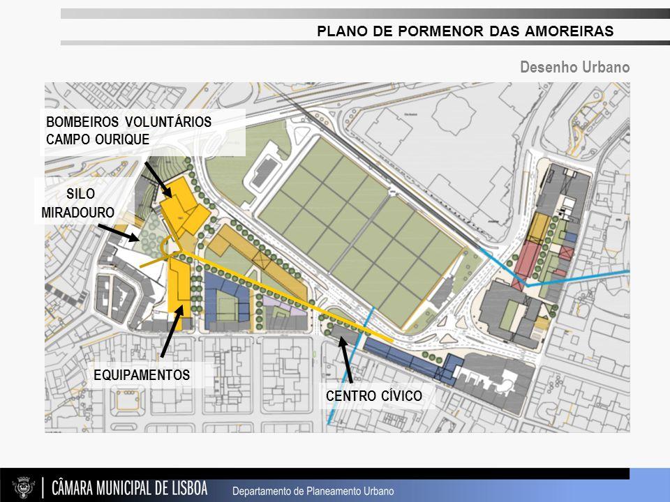 SILO MIRADOURO Desenho Urbano BOMBEIROS VOLUNTÁRIOS CAMPO OURIQUE