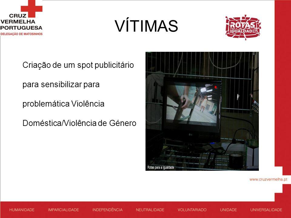 VÍTIMAS Criação de um spot publicitário para sensibilizar para problemática Violência Doméstica/Violência de Género.