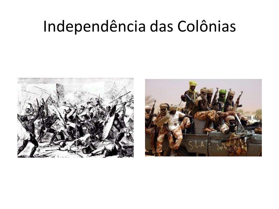 Independência das Colônias