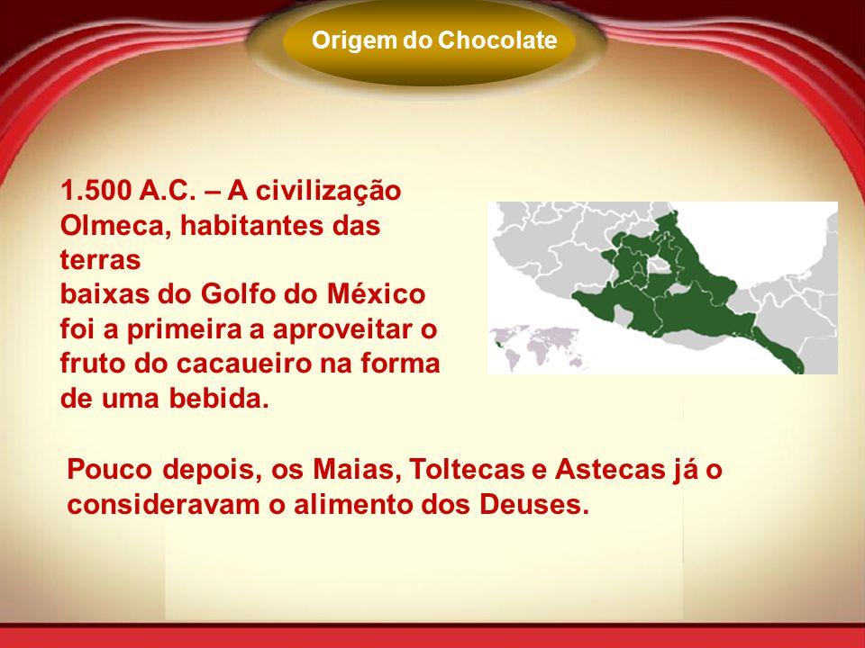 1.500 A.C. – A civilização Olmeca, habitantes das terras