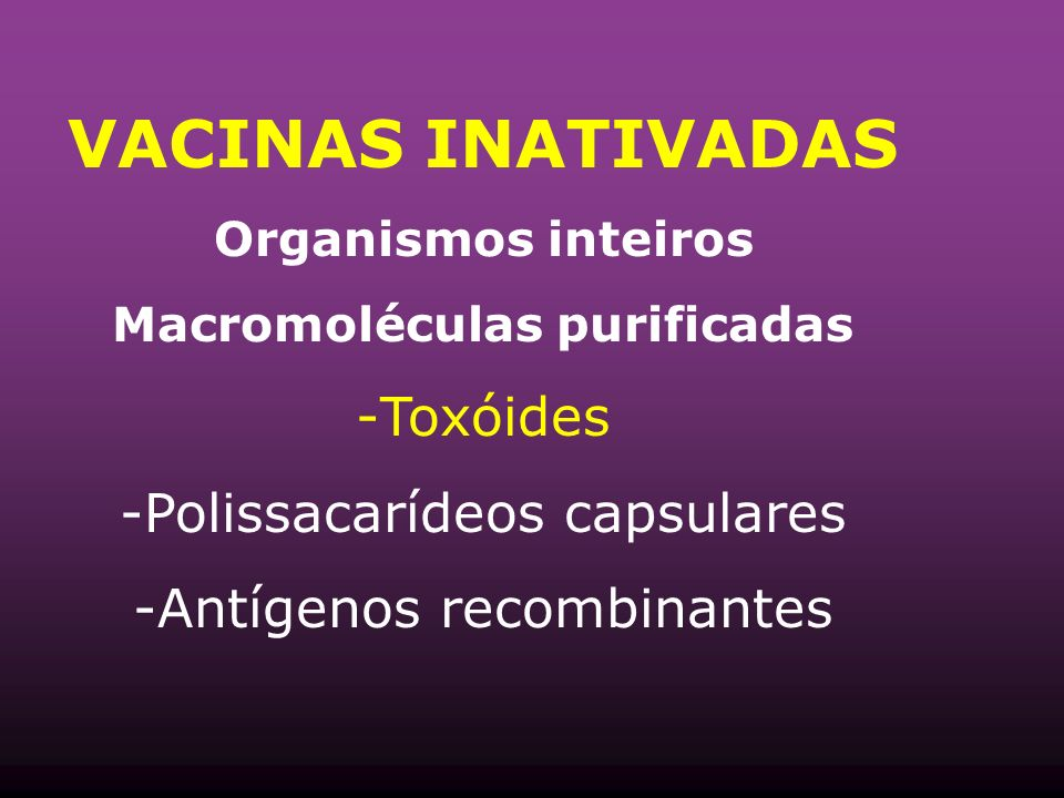 Macromoléculas purificadas