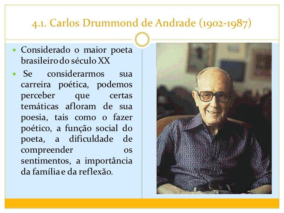 4.1. Carlos Drummond de Andrade (1902-1987)