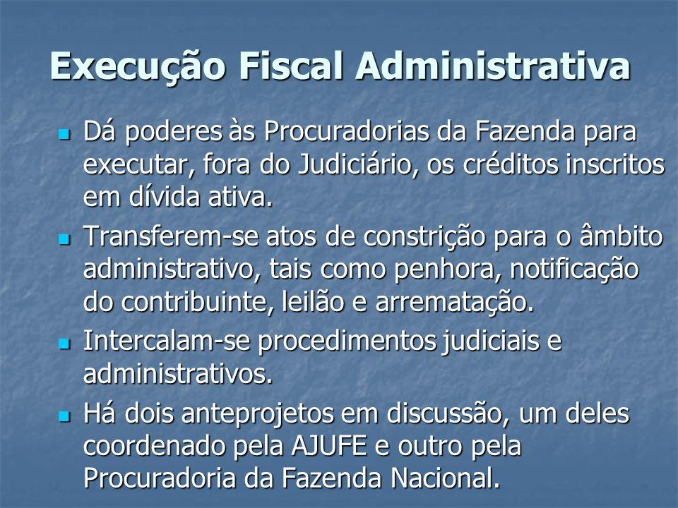 Execução Fiscal Administrativa