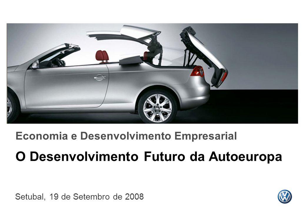 O Desenvolvimento Futuro da Autoeuropa