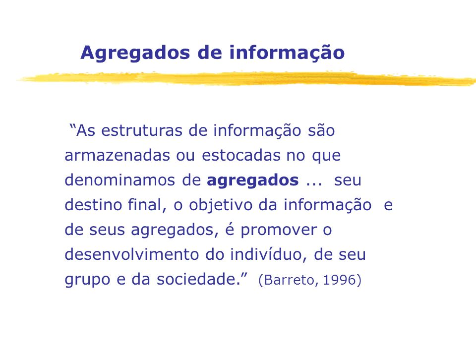 Agregados de informação