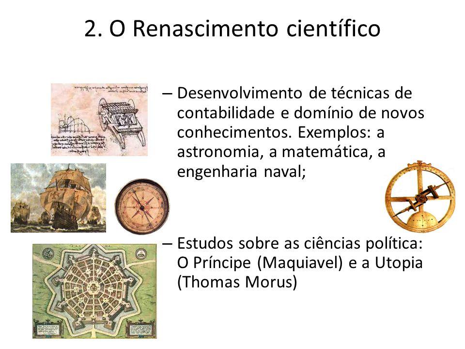 2. O Renascimento científico