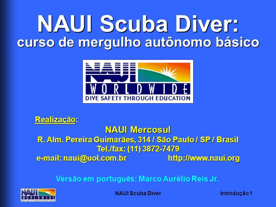 NAUI Scuba Diver: curso de mergulho autônomo básico NAUI Mercosul