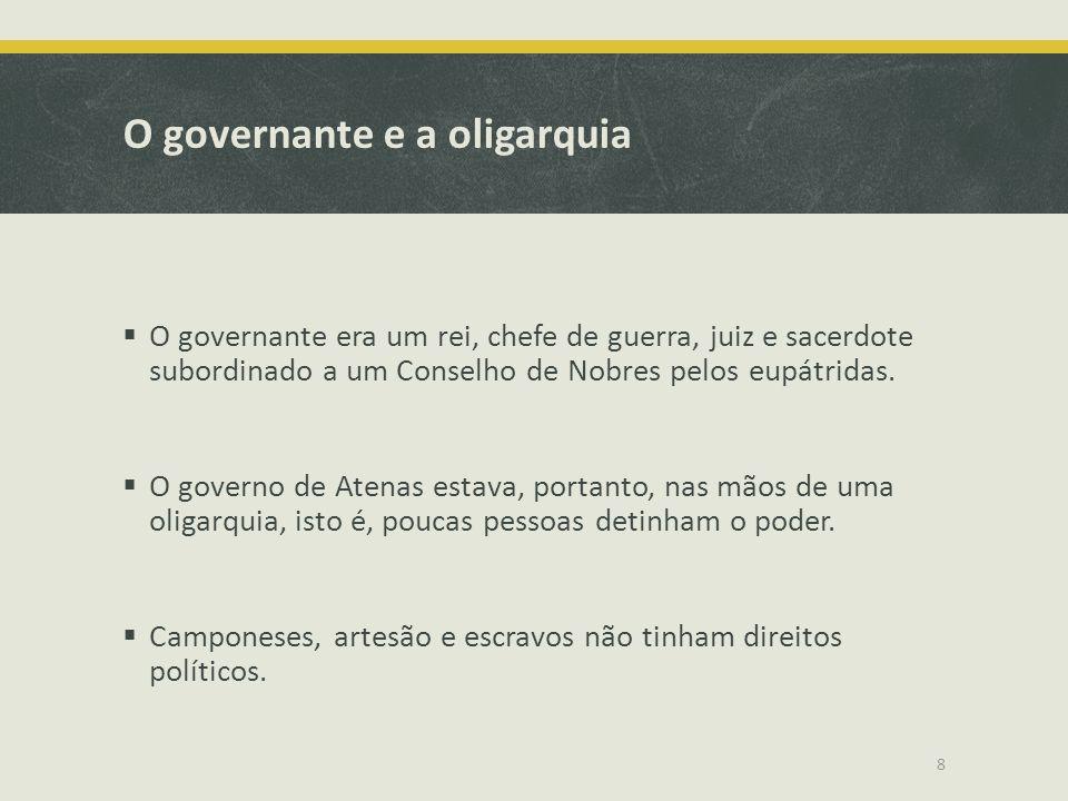 O governante e a oligarquia