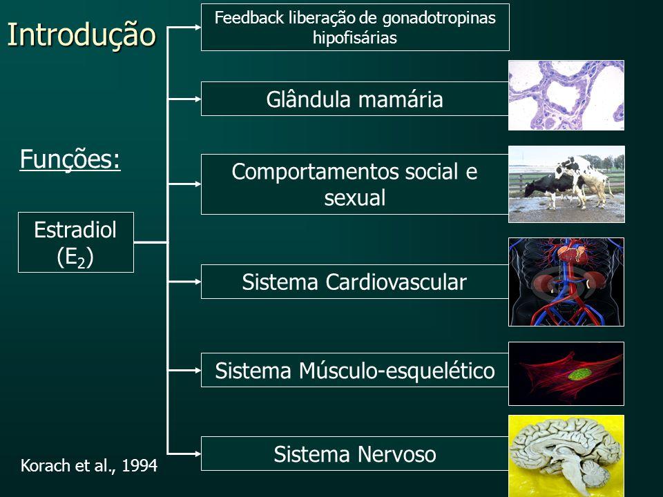 Introdução Funções: Glândula mamária Comportamentos social e sexual