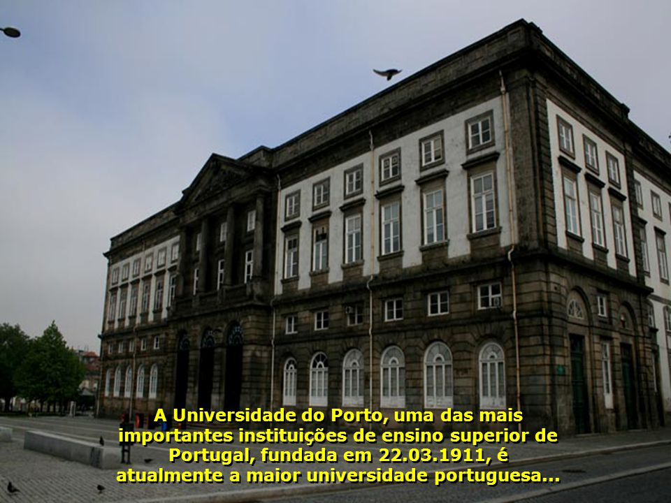 IMG_2190 - PORTUGAL - PORTO – PRÉDIO DA UNIVERSIDADE DO PORTO-700