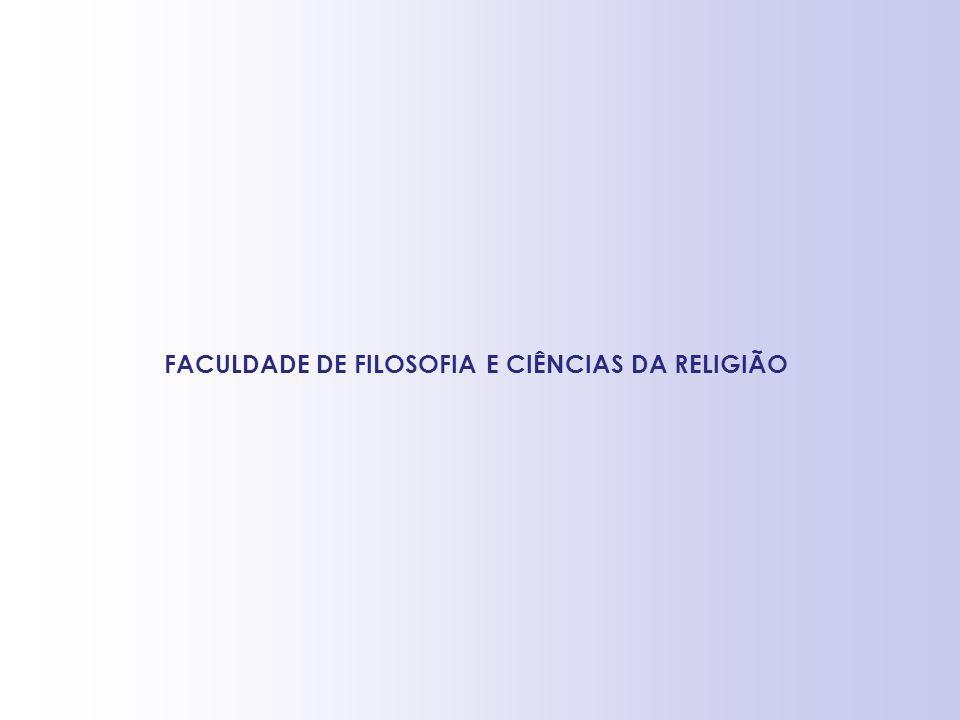 FACULDADE DE FILOSOFIA E CIÊNCIAS DA RELIGIÃO