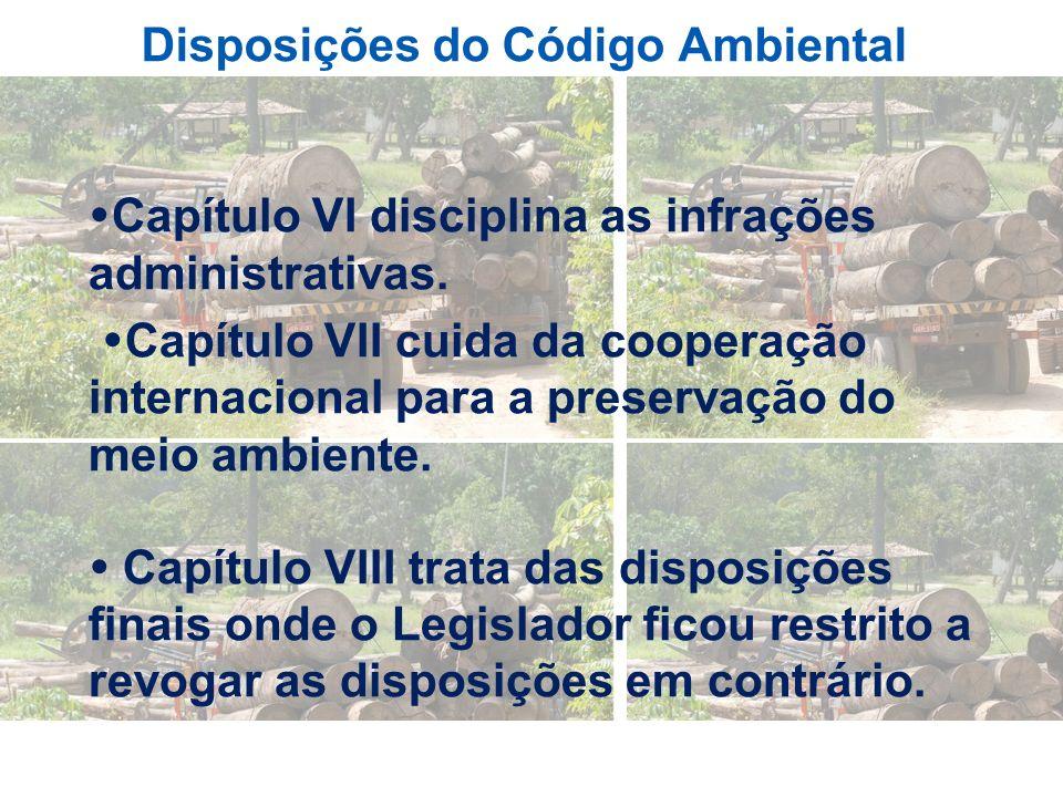 Disposições do Código Ambiental