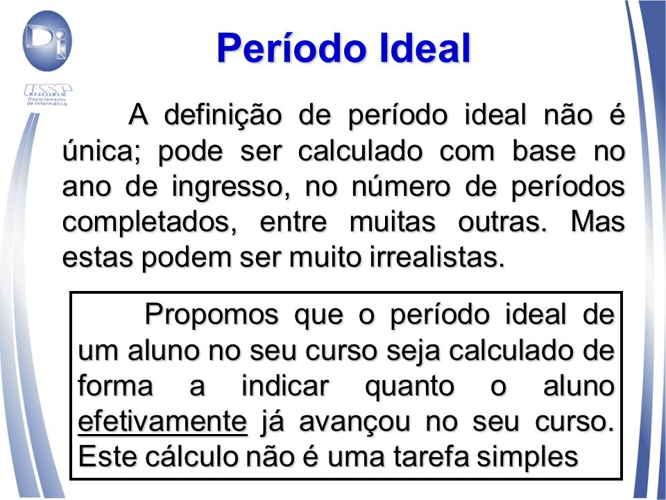 Período Ideal