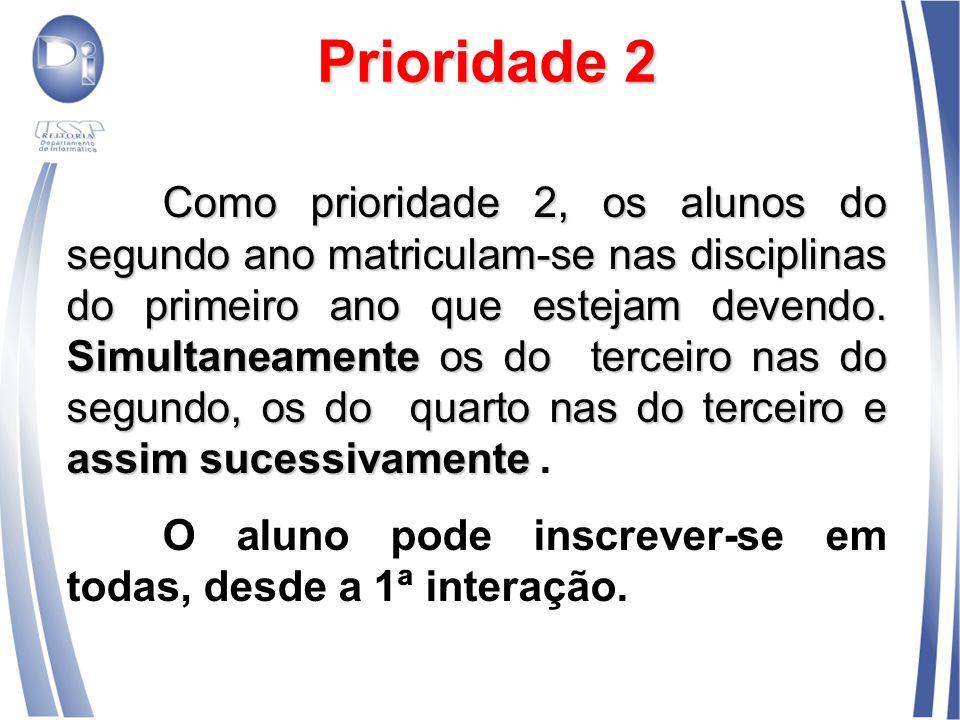 Prioridade 2