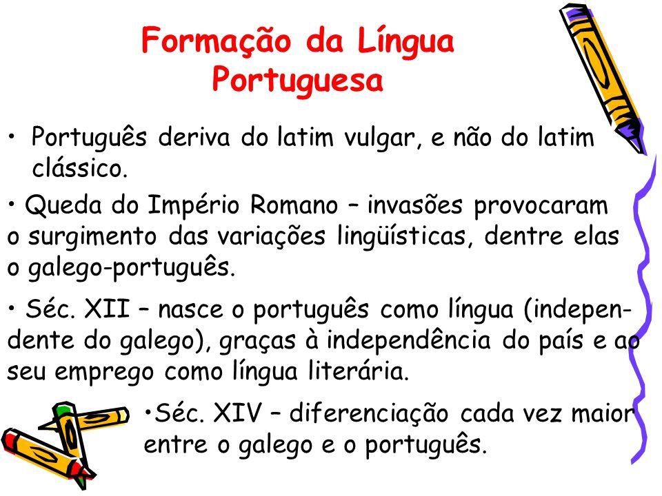 Formação da Língua Portuguesa
