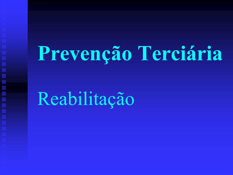 Prevenção Terciária Reabilitação
