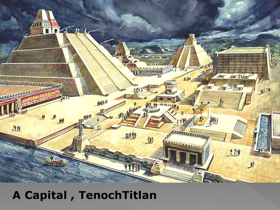 A Capital , TenochTitlan